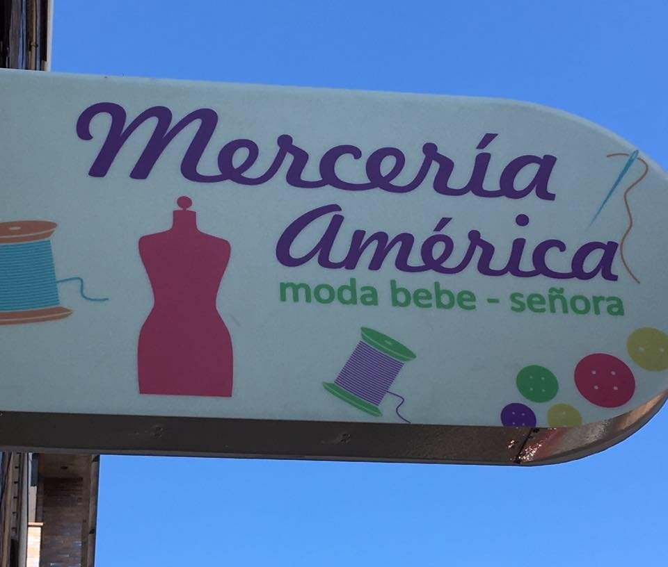Cartel Merceria America
