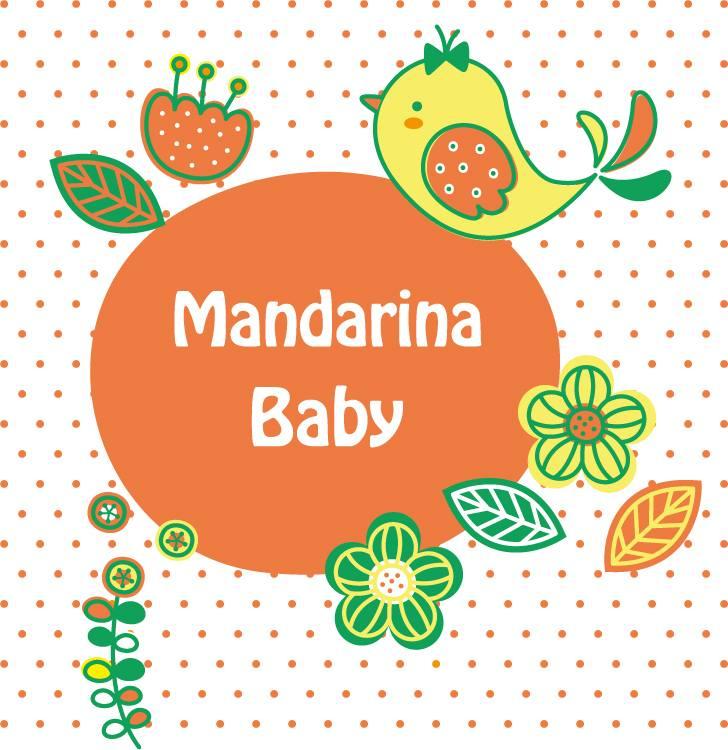 logo mandarina baby