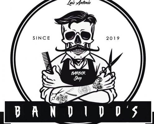 Logo Bandidos barber shop