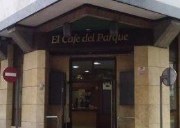 Fachada El cafe del parque