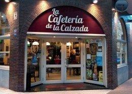 Fachada Cafeteria de la Calzada