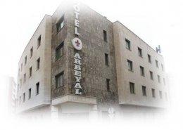 Fachada Hotel Arbeyal