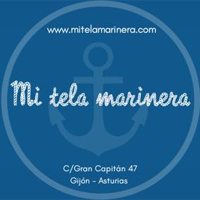 Tarjeta Mi tela marinera